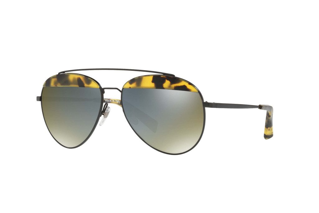 A look from Oliver Peoples' collaboration with Alain Mikli.